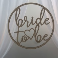Bride to Be Hanging Hoop