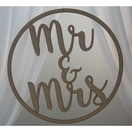 Mr & Mrs Hanging Hoop