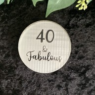 Custom Age and Fabulous Cookie Stamp