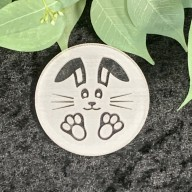 Bunny Face Cookie Stamp