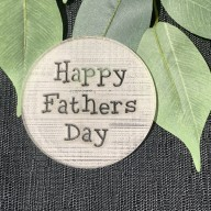 Happy Fathers  Day Cookie Stamp Design 1