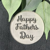 Happy Fathers  Day Cookie Stamp #2