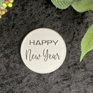 Happy New Year Cookie Stamp #1