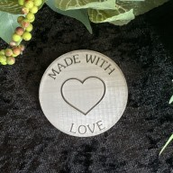 Made With Love Cookie Stamp #2