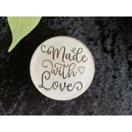 Made With Love Cookie Stamp