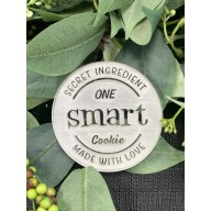 Secret Ingredient One Smart Cookie Made with Love Cookie Stamp.