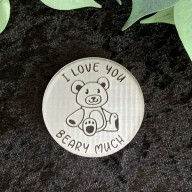 I Love You Beary Much Cookie Stamp