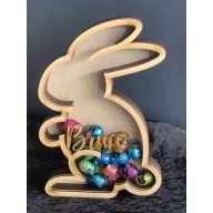 Easter Bunny - Fillable with Chocolate / Lollies / Money