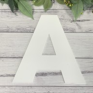 Baking Letter Cookie Cake Template.