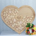 Heart Shaped Drop Box - Guest Book Alternative