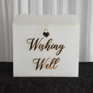 Acrylic  Personalised Wishing Well