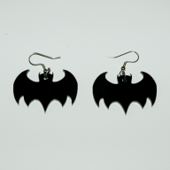 Bat Wings Earrings