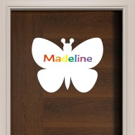 Butterfly Wall Sign