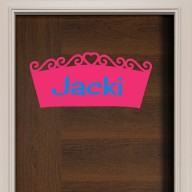 Princess Crown Door Sign