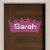 Princess Crown II Door Sign