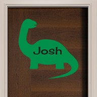 Dinosaur #1 Door Sign