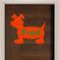 Puppy Dog Door Sign