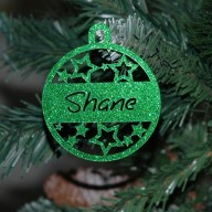 Christmas Bauble (Star pattern)