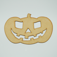 RAW MDF Halloween Pumpkin - Large